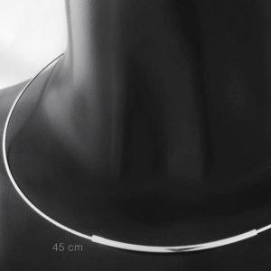 Draad ketting 1mm met steeksluiting